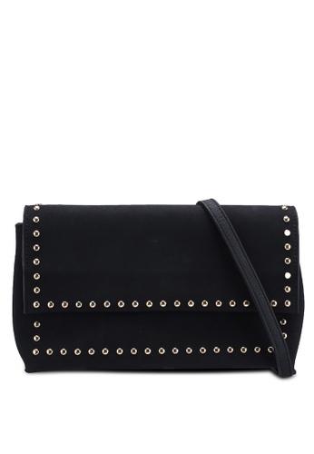 Berrybenka black Sabita Catsep Sling Bag 358A4ACA5A7D4BGS_1