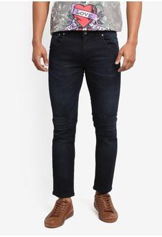 3249109de2 Ed Hardy black Ed Hardy Cut   Sew Slim Cut Jeans 569B9AA82C1FB4GS 1