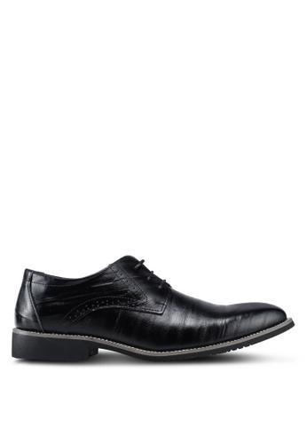 Twenty Eight Shoes black Classic Leather Oxford Shoes E2A6FSH33C6007GS_1