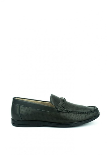 Cardam's Lifestyle black Josh Loafers 2A780SHF82CACFGS_1
