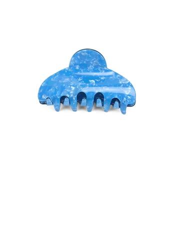 Glamorousky blue Fashion Simple Blue Pattern Geometric Hair Claw 43897AC57CC70AGS_1