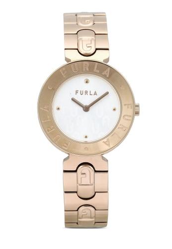 FURLA Watches 粉紅色 and 金色 Ladies Rose Gold Dress Watch BA9F3ACD869E73GS_1