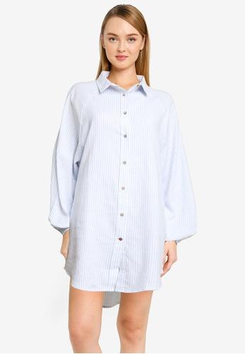 Cotton On Body multi Warm Flannel Sleep Shirt Nightie CC0BEAA07D6EA5GS_1