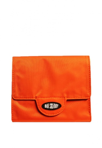 Big Skinny Wallets orange Nylon Trixie Wallet 69930AC110CD77GS_1