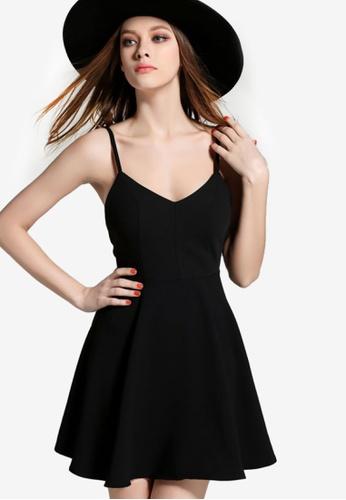 Sunnydaysweety black Unique Wings Sling Dress 9C6D8AA1AC2D05GS_1