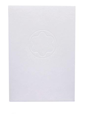 Montblanc white A4 Notepad (zt) CC580AC4FBF298GS_1