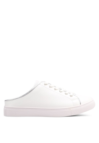 ZALORA white Minimalist Slip On Sneakers 4CADESH856D45CGS_1
