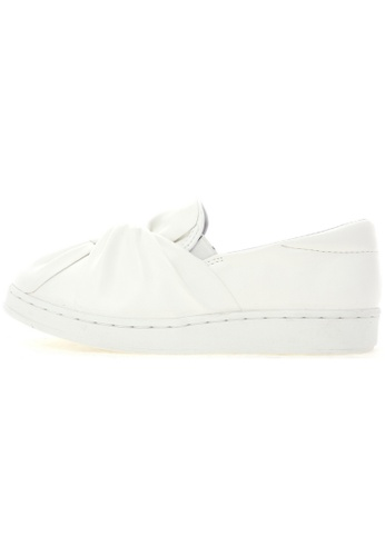 Maxstar Maxstar 202 Bow Synthetic Leather Classic Fashion Slip-on Sneakers US Women Size MA168SH75URWHK_1