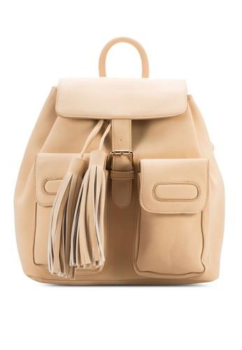 Pocket Tassel Backpack、 包、 包SomethingBorrowedPocketTasselBackpack最新折價