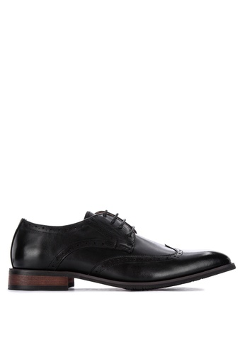 Gibi black Wax 015 Laced-Up Formal Shoes 8BE62SH392D01EGS_1