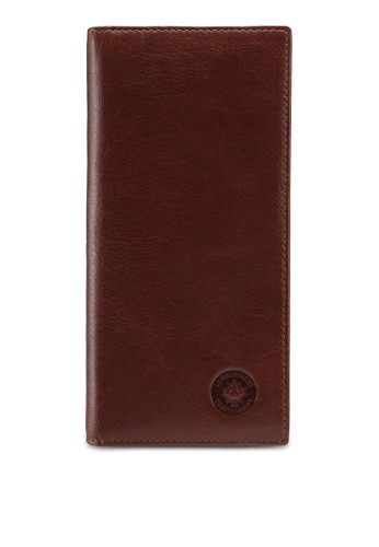 Lumberjacks brown Lumberjacks Genuine Leather Bi-fold Long Wallet 1A4A9ACEB7286BGS_1