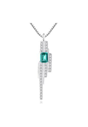SUNRAIS silver Premium Silver S925 Silver Simple Design Necklace 2E516AC4CE1B3AGS_1