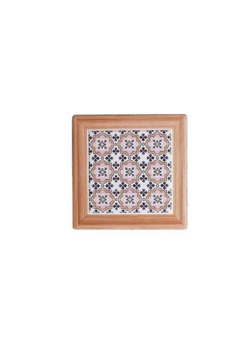 Table Matters multi Peranakan  Coaster (Cup)-A (Dim: 10.8 x 10.8 x 0.7cm) FC90FHL5D07850GS_1
