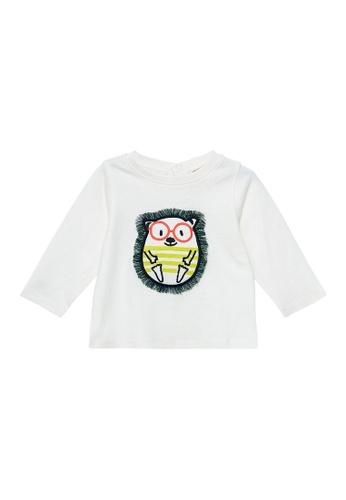 Du Pareil Au Même (DPAM) white Long Sleeve T-Shirt C064AKAAF7208CGS_1