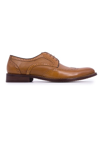 Rad Russel brown Rad Russel Lace Up Derby-Tan C230CSHB3ED811GS_1