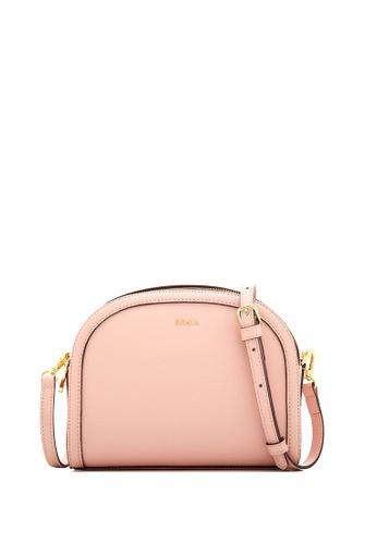 BONIA pink Blush Pink Olivia Curved Top Crossbody II A4D82AC3DA81FCGS_1