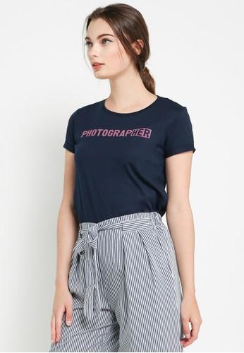 Logo Jeans navy Her Tee LO418AA0WEZ9ID_1