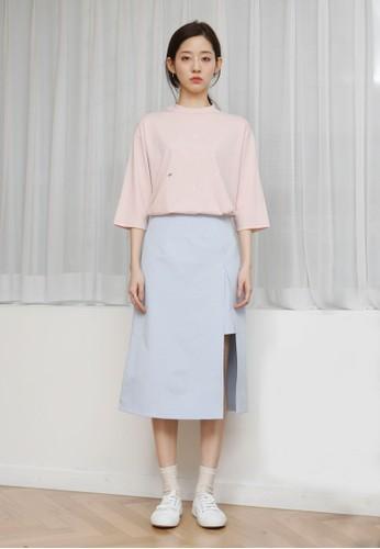 韓風時鐘印花七分袖上衣, 服esprit女裝飾, 上衣