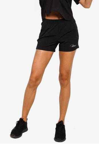 361° black Running Series Sports Shorts 36037AAFFCEB0FGS_1