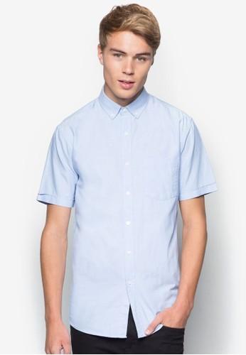 休閒牛津短袖襯衫,esprit china 服飾, 襯衫