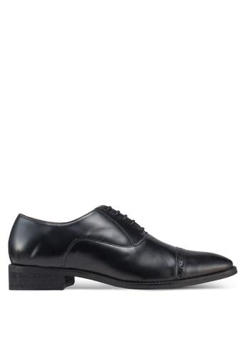 Carlton London black Lace Up Dress Shoes 0EB04SH29295E6GS_1