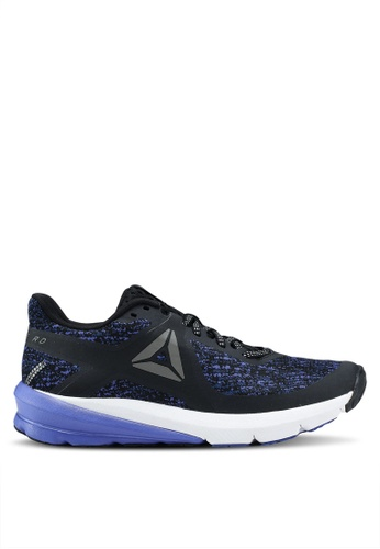 Reebok black and blue OSR Grasse Road Shoes RE691SH0SVZWMY_1