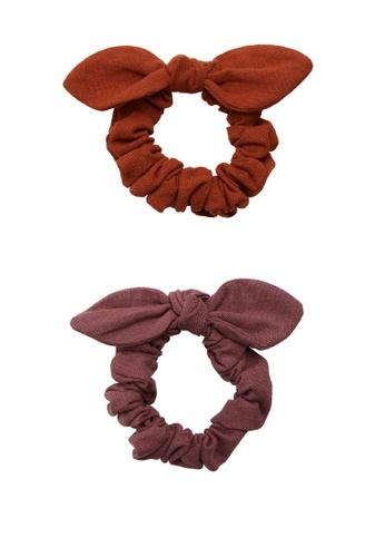 MANGO KIDS pink 2-Pack Hair Ties 86BF6KCCEE0772GS_1