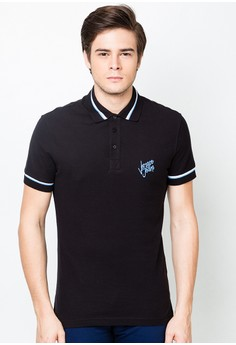 MC Flower Slim Knitted Polo