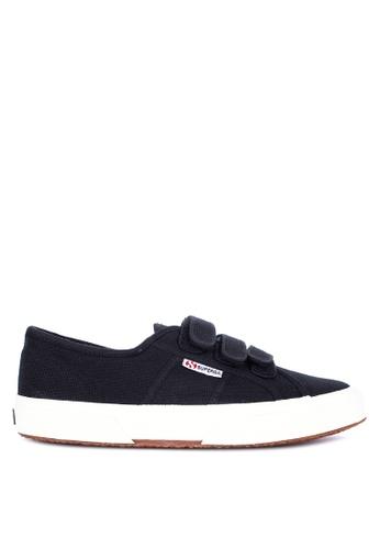 Superga black 2750-Cot3Strapu Sneakers 6B96BSHD970753GS_1