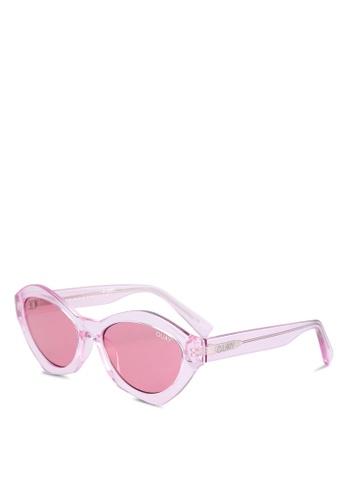 Quay Australia pink QUAYXKYLIE AS IF! Sunglasses QU661GL0S8MSMY_1