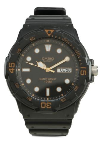 MRW-200H-1EVDF 多功能皮革錶, 錶類, 其它錶esprit part time帶