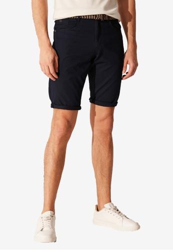 LC Waikiki navy Slim Fit Bermuda Shorts 989E7AA17B2BACGS_1