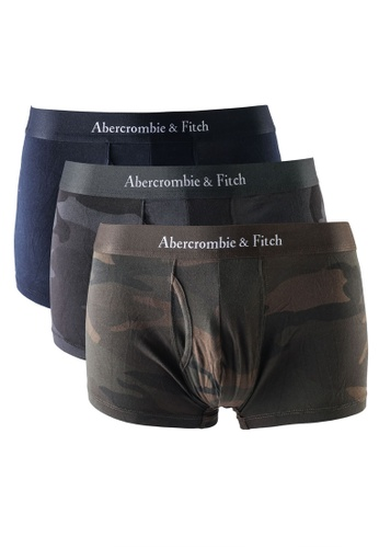 Abercrombie & Fitch green Multipack Trunks 44A2AUS331CA04GS_1