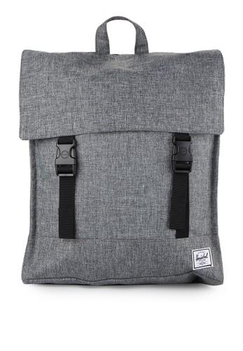 Herschel grey Survey Backpack HE449AC0UDNLID_1