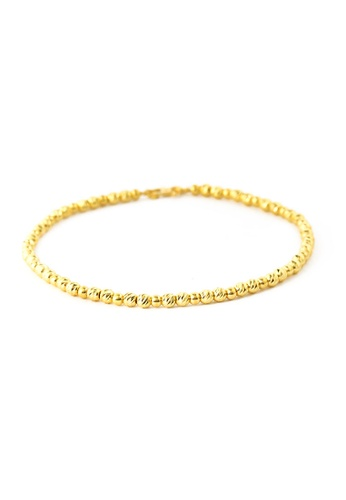 TOMEI gold TOMEI Passel of Aureate Sphericity Bracelet, Yellow Gold 916 (BB1039-1C) 354E8AC2C137BAGS_1