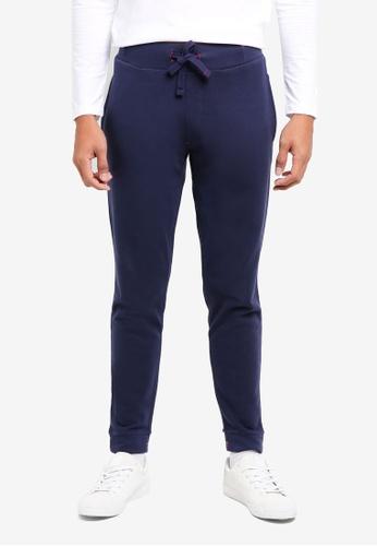 ESPRIT navy Regular Knitted Pants B02E0AAE04950CGS_1