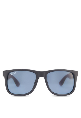 Ray-Ban Justin RB4165F Polarized Sunglasses RA370GL99SIESG_1