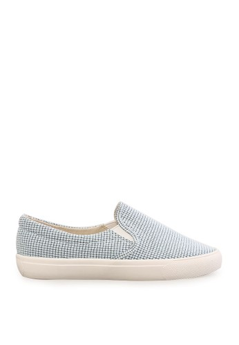 Minarno blue Women Blue Pattern Slip-On MI641SH80PDFID_1