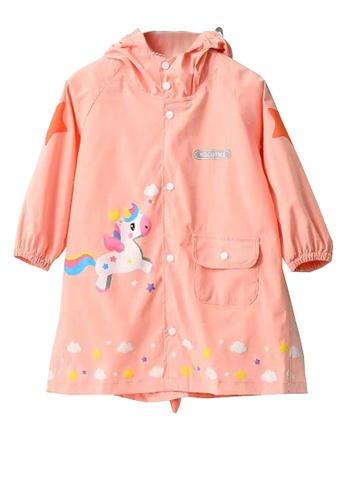 Twenty Eight Shoes pink VANSA  Stylish Cartoon Raincoat VCK-R19327 9E244KAA5DD55BGS_1