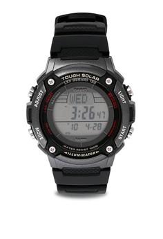 Digital W-S200H-1B Watch