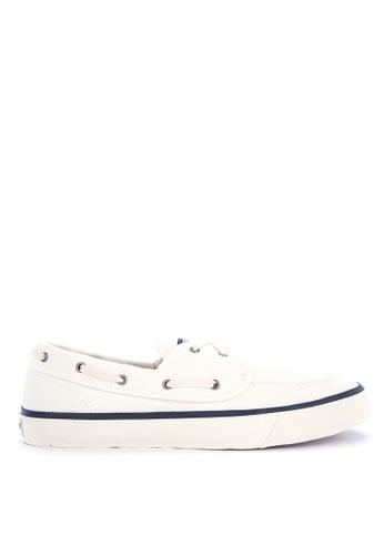 Sperry white Captain's 2-Eye Sneakers FD121SH84FA31BGS_1