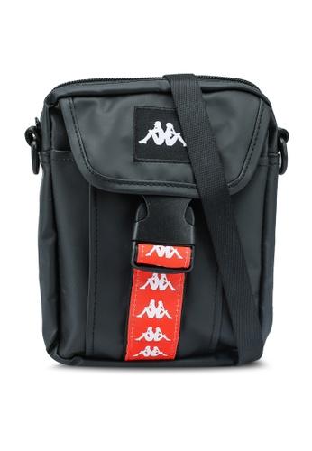 Kappa black Kappa Authentic Sling Bag C008CAC6D60618GS_1