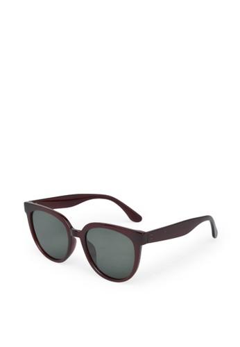 9 to 12 bronze Oversize Sunglasses Kacamata Wanita [5504] 96554GLABB106DGS_1