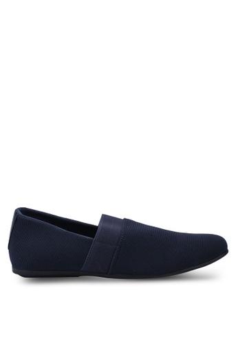 UniqTee 藍色 Smart Casual Kung-fu Shoes 6B056SH1E59006GS_1