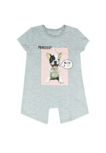 FOX Kids & Baby grey Kids Girl Short Sleeve Tee 9F064KA1A5EF25GS_1