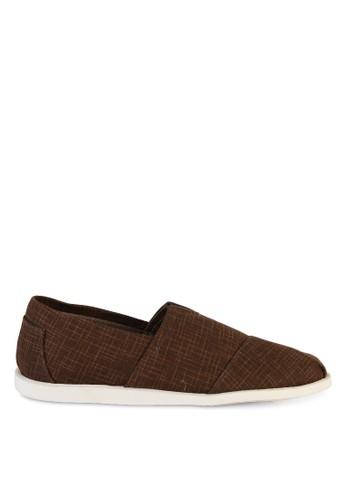 十字紋布esprit 評價懶人鞋, 鞋, 懶人鞋