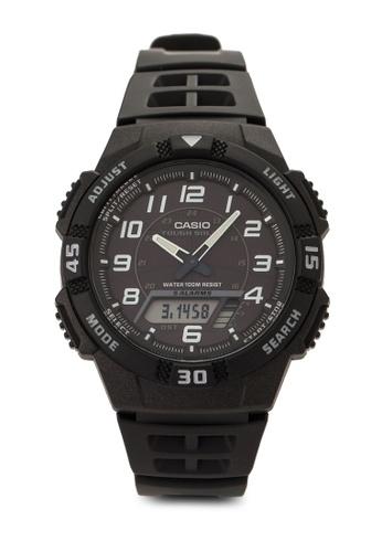 Casio black Casio Youth Analog-Digital Men's Watch CA843AC45VIGMY_1