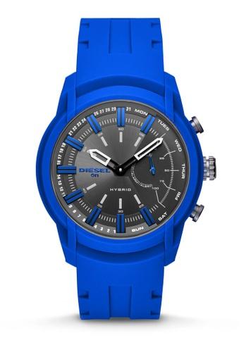 Diesel blue Armbar Hybrid Smartwatch DZT1017 0798BACEB9B07FGS_1