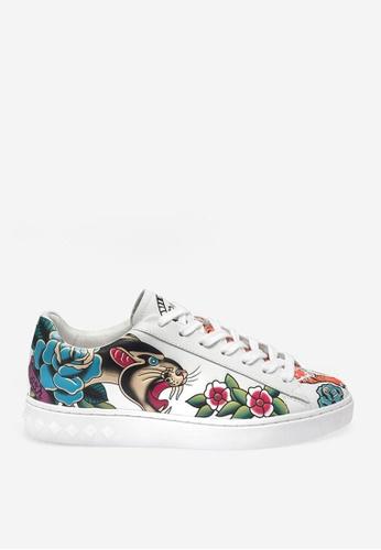 ASH white Panthera - White Print Sneakers 0C907SH9C3C8BBGS_1