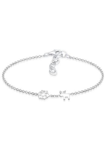 ELLI GERMANY silver Elli Germany Bracelet Snowflake Reindeer 925 Silver EL474AC0SEVHMY_1
